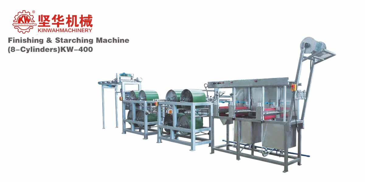 Finishing & Starching Machine(8-Cylinders) KW-400