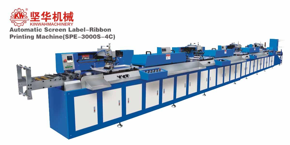 Automatic Screen Label-Ribbon Printing Machine SPE-3000S
