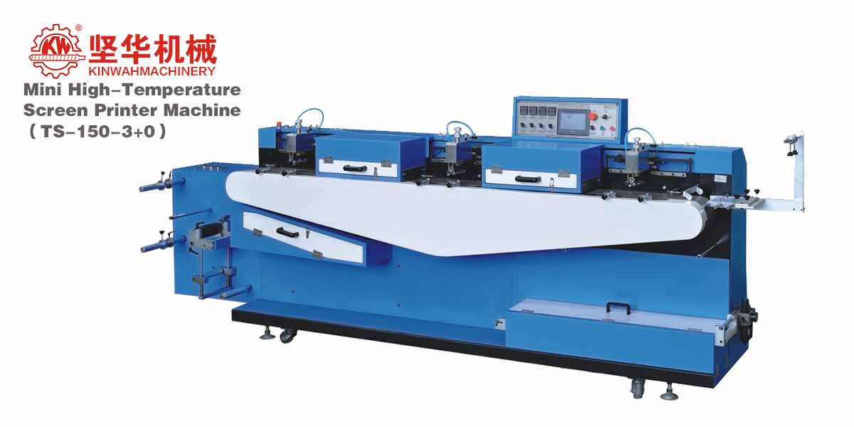 Mini High-Temperature Screen Printer Machine TS-150(3+0)