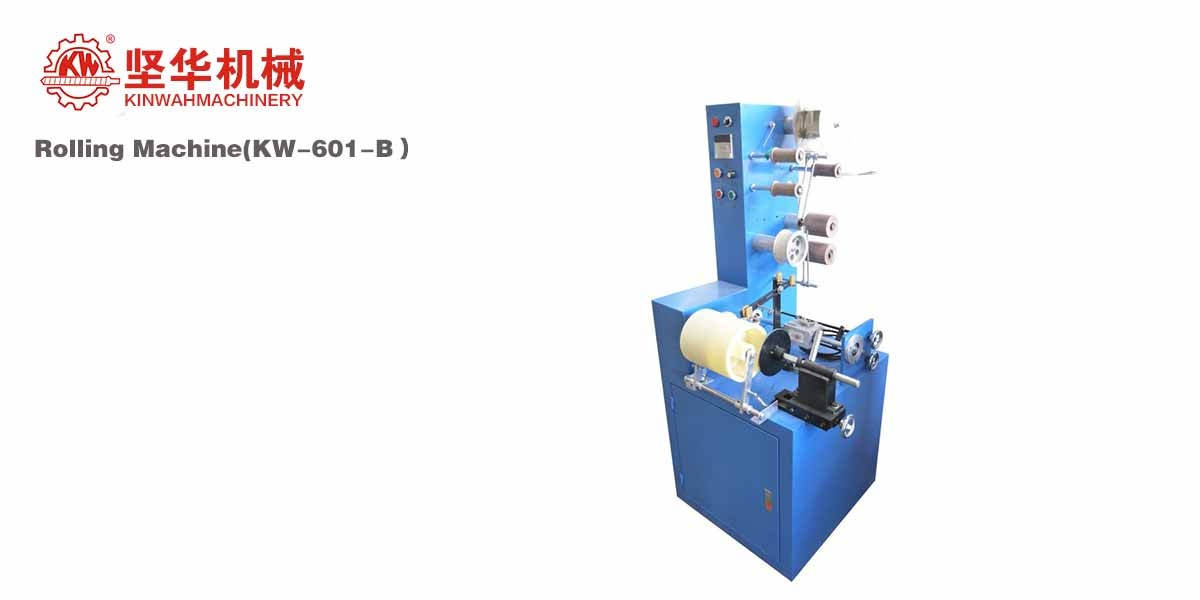 Winding Machine for Elastic Tapes KW-601-B