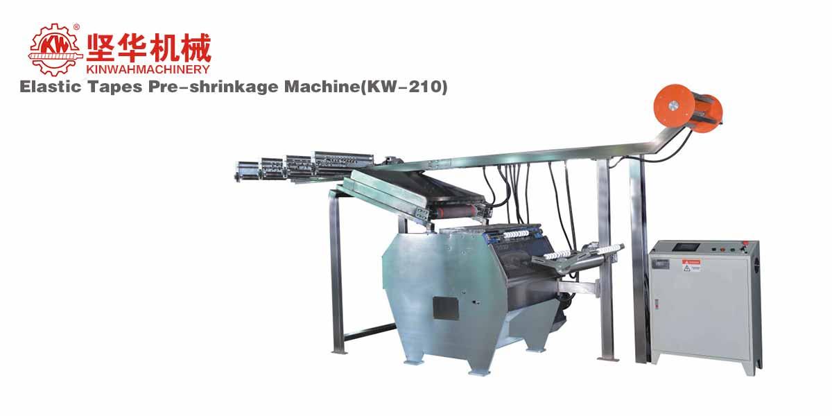 Elastic Tapes Pre-shrinkage Machine KW-210