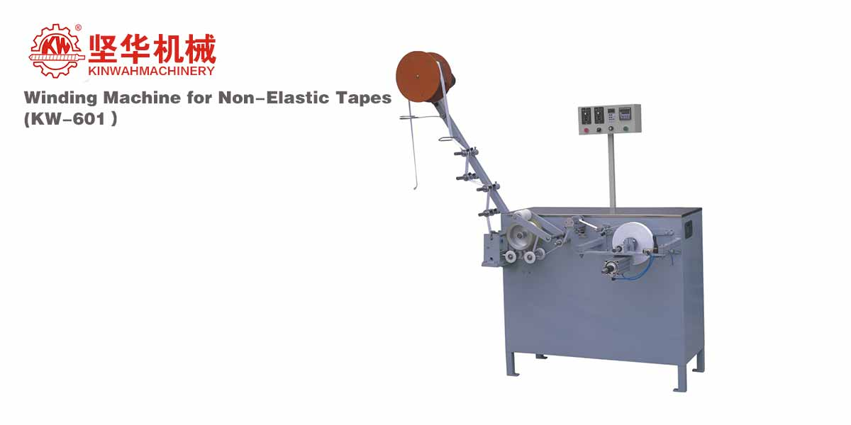 Winding Machine for Non-Elastic Tapes KW-601