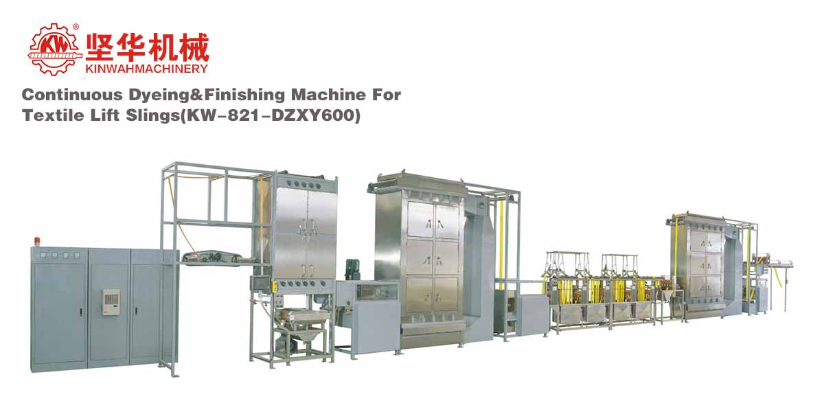 Continuous Dyeing&Finishing Machine for Textile Lift Slings KW-821-DZXY600