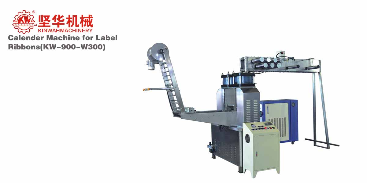 Calender Machine for Label Ribbons KW-900-W300